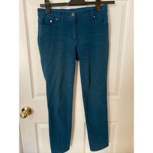 Chico's 0.5 Regular Teal Jeans with Elastic Waist